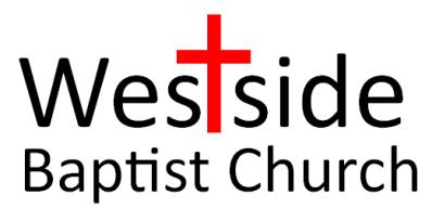 Westside Baptist Church 2016 Logo 5